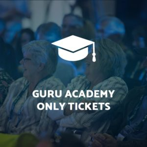 Guru Academy Only Tickets